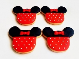 Marturie botez - Turta dulce/Biscuit Minnie Mouse