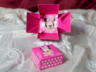 Invitatie botez Minnie Mouse