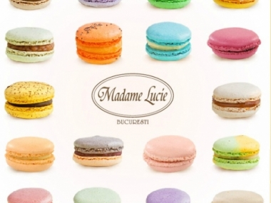 Marturie Macarons Madame Lucie 9buc